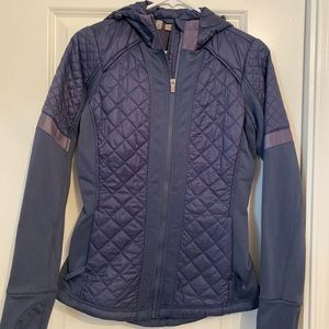 Athleta cold climate workout jacket